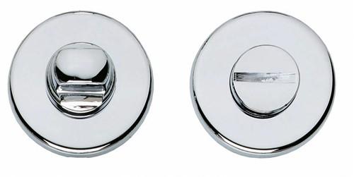 wc sluiting 8 mm rond verdekt kunststof chroom