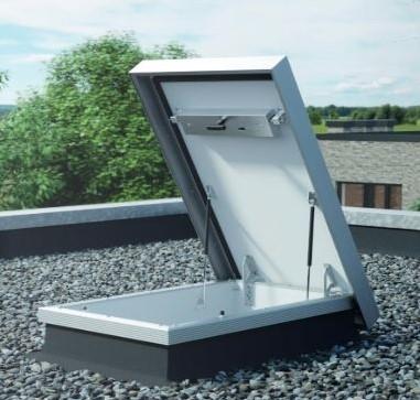 Dakluik op maat voor plat dak