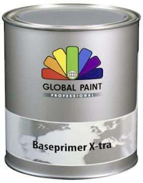 Global aqua grondverf 1 Liter: Zwart (RAL 9005)