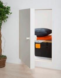 Knieschot deur 70 x 80 cm