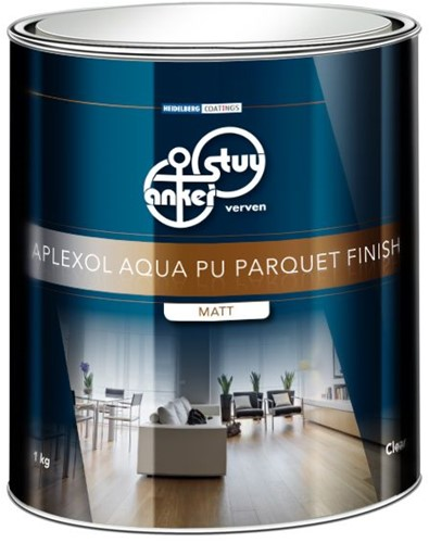 Aplexol Aqua Finish- afwerking hoogglans - blik van 2.5 liter