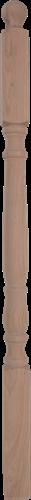 "Hoofdbaluster ""E"" eikenhout 130 cm"