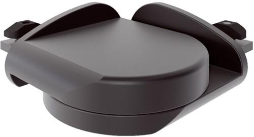 Pure black hoekverbinding