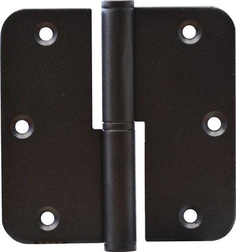 Blad paumelle zwart 89 x 89 mm