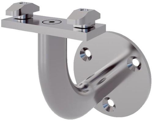 Pure titanium leuninghouder