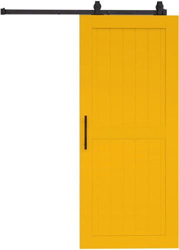 "Barndoor model ""COTTAGE"" - 800 x 2300 mm  - Geel"