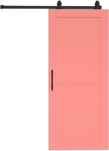 "Barndoor model ""COTTAGE"" - 800 x 2300 mm  - Rose"