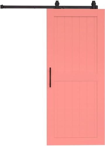 "Barndoor model ""COTTAGE"" - 800 x 2000 mm  - Rose"