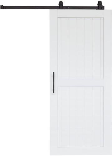 """Barndoor model """"COTTAGE"""" - 800 x 2100 mm - Wit"""