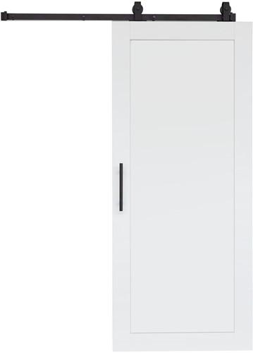 """Barndoor model """"WOOD"""" - 800 x 2200 mm - Wit"""