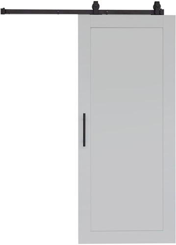 """Loftdeur """"WOOD"""" - 900 x 2000 mm - Licht grijs"""
