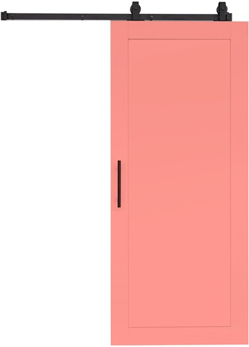 "Loftdeur ""WOOD"" - 800 x 2000 mm  - Rose"
