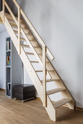 Molenaarstrap voor trapgat 75 x 163 - max. hoogte 315 cm