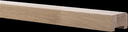 Onderprofiel eikenhout 200cm