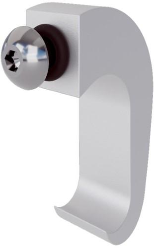 Pure titanium plexiglas bevestigingsbeugels