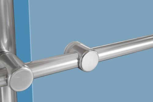 Bevestiging plexiglas Aluminium