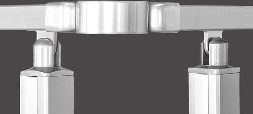 S9 scharnierende koppeling tussen 2 handgrepen - 1 stuk