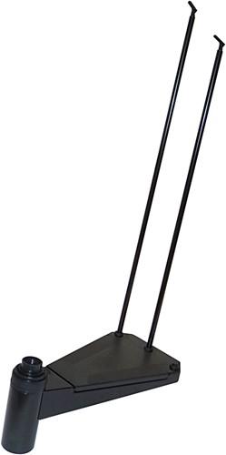 extra trede voor de zwarte civik wenteltrap antislip diameter 140 cm