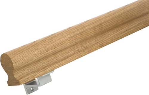 Trapleuning sleutelgat profiel smal formaat 40 x 60 mm